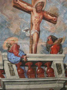 Aus der Kreuzkirche auf Säben